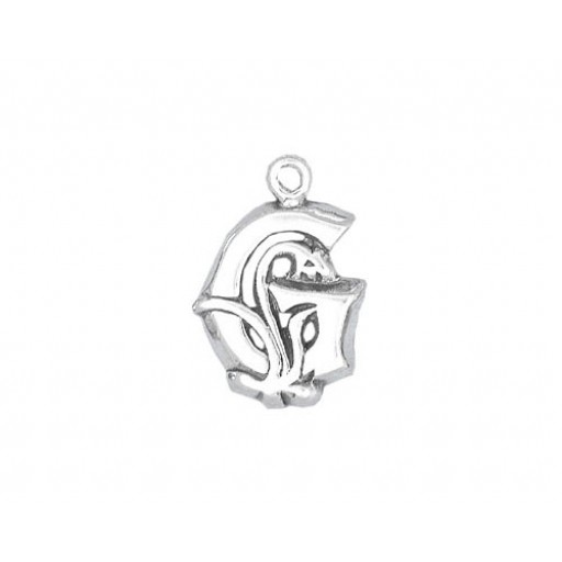 Sterling Silver Charm - G