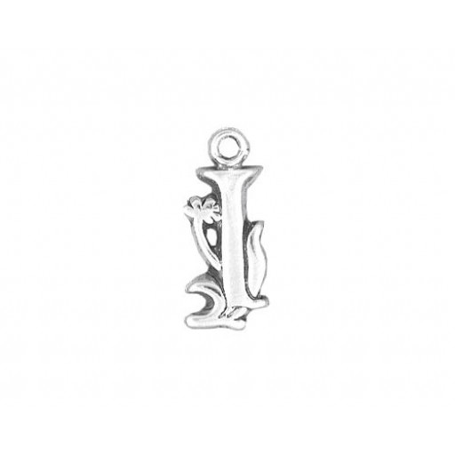 Sterling Silver Charm - I