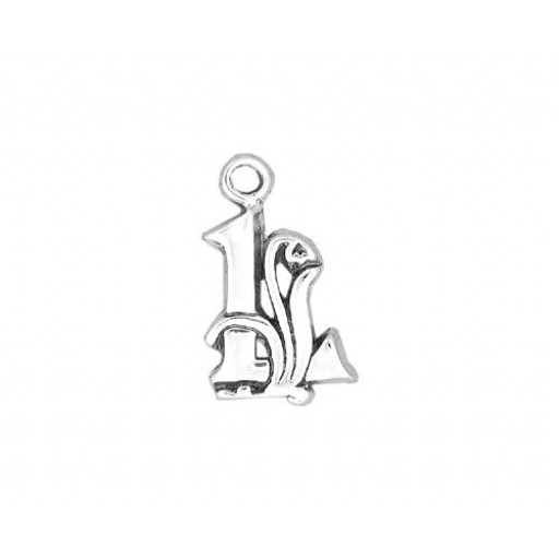 Sterling Silver Charm - L