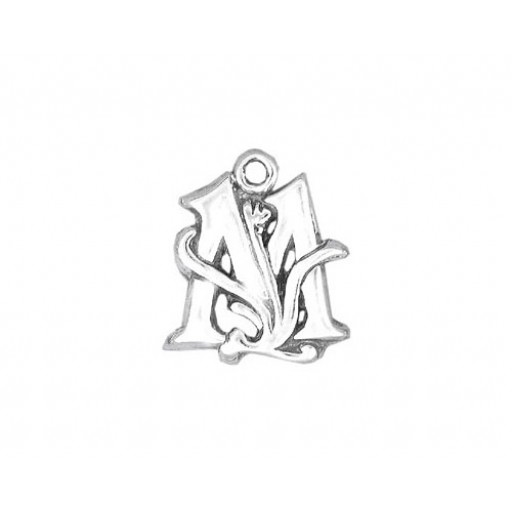 Sterling Silver Charm - M