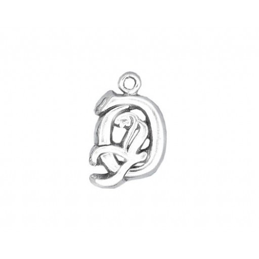 Sterling Silver Charm - O
