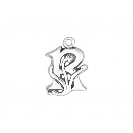 Sterling Silver Charm - R