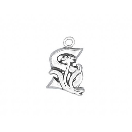 Sterling Silver Charm - S