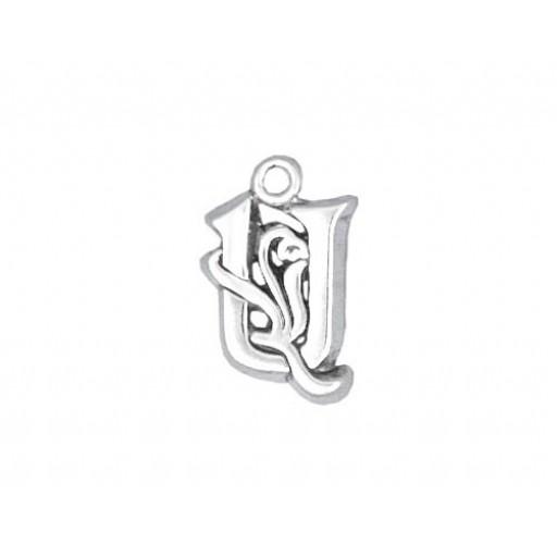 Sterling Silver Charm - U