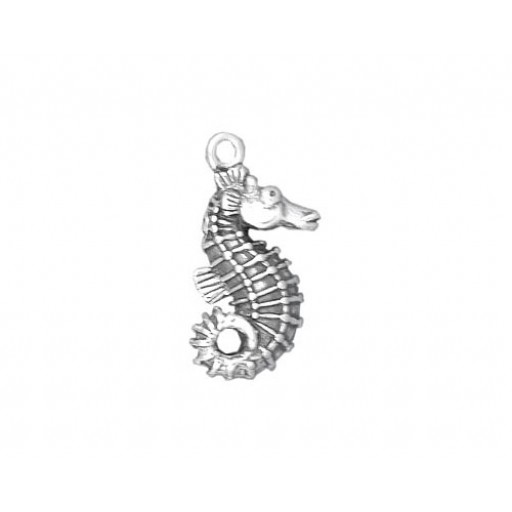 Sterling Silver Seahorse Charm