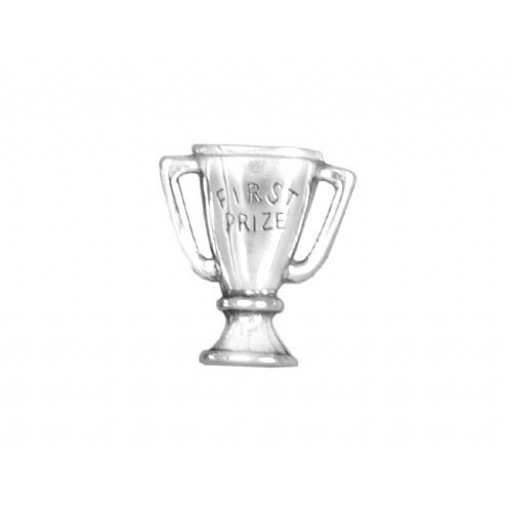 Sterling Silver First Place Charm