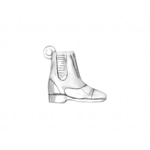 Sterling Silver Paddock Boot Charm
