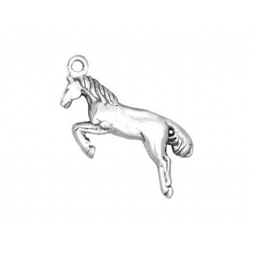 Sterling Silver Jumper Horse