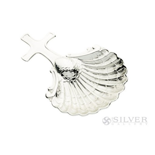 Cunill Sterling Silver Dolphin Baptismal Shell