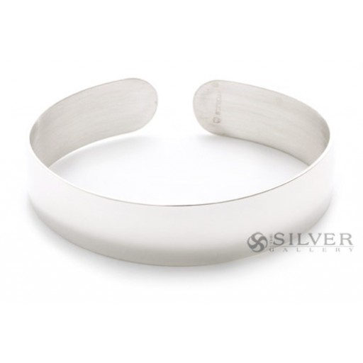 Sterling Silver Cuff Bracelet 1 2 Wide