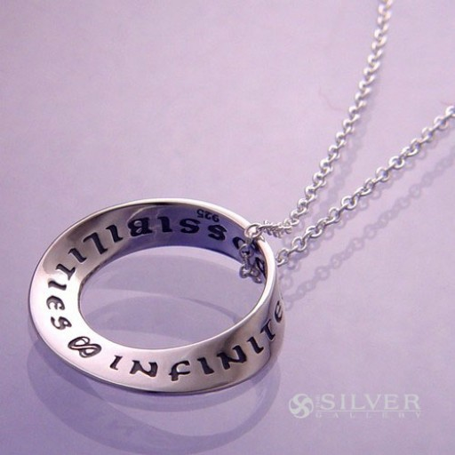 Sterling Silver Mobius Necklace - Infinite Possibilities