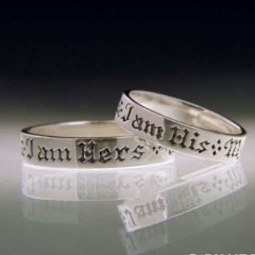 Ring -My Beloved is Mine & I Am His