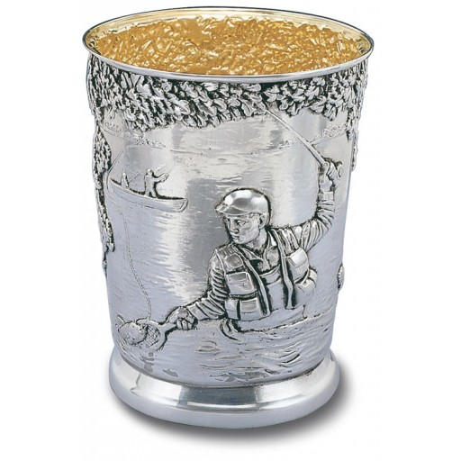 Fly Fishing Mint Julep Cup