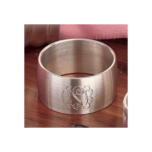 Spun Pewter Napkin Ring - Single