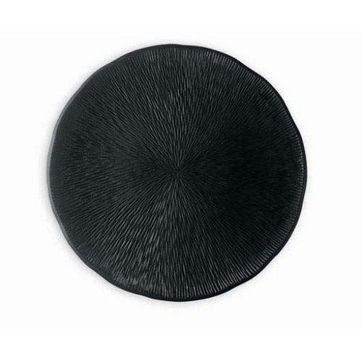 Michael Aram - Africana Porcelain Dinner Plates (2) - Black Matte Porcelain