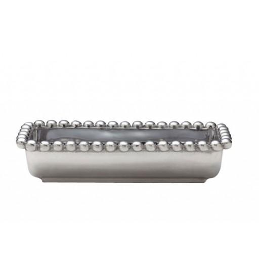 Mariposa String Of Pearls Beaded Cracker Caddy