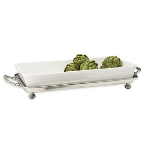 Match Pewter Convivo Baking Tray with Handles