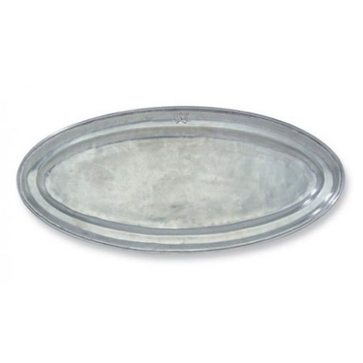 Match Pewter Oval Fish Platter