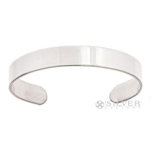 """Sterling Silver Cuff Bracelet - .38"""" Wide"""
