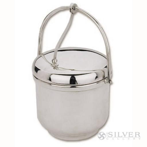 Reed and Barton Ice Bucket with Swing Handle