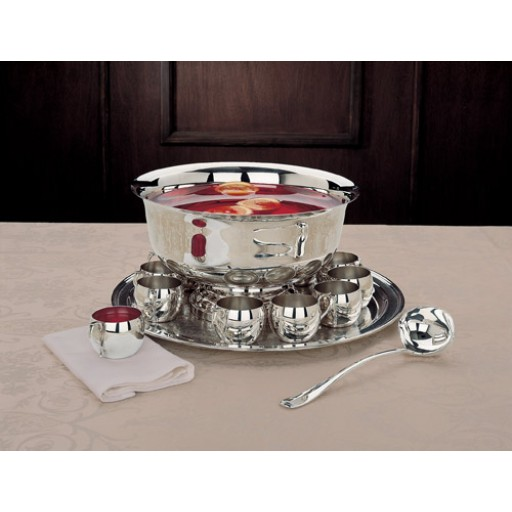 Reed And Barton Paul Revere Punch Bowl Set