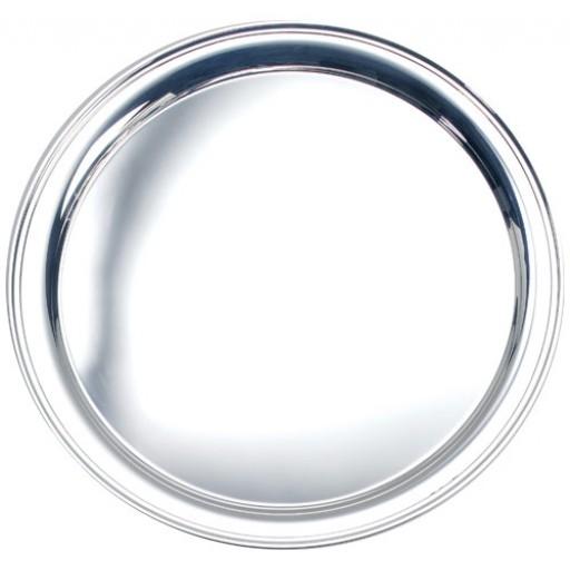 "Salisbury Round Sterling Silver Tray - 12"""