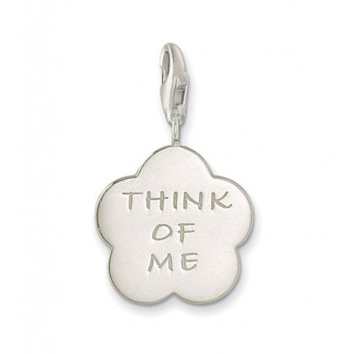 Think of Me Charm - Sterling Silver