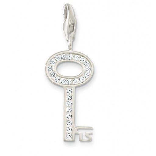Key Charm - Sterling Silver