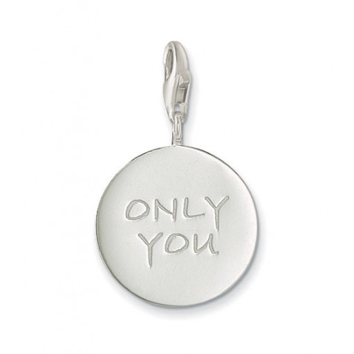 Only You Charm - Sterling Silver