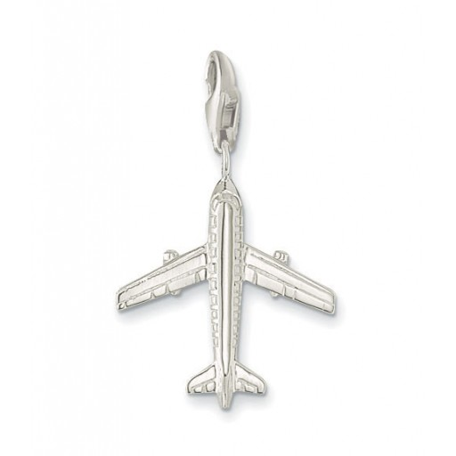 Aircraft Charm - Sterling Silver