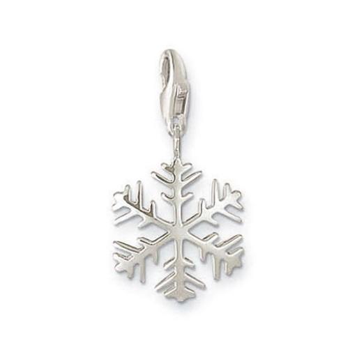 Snow Crystal Charm