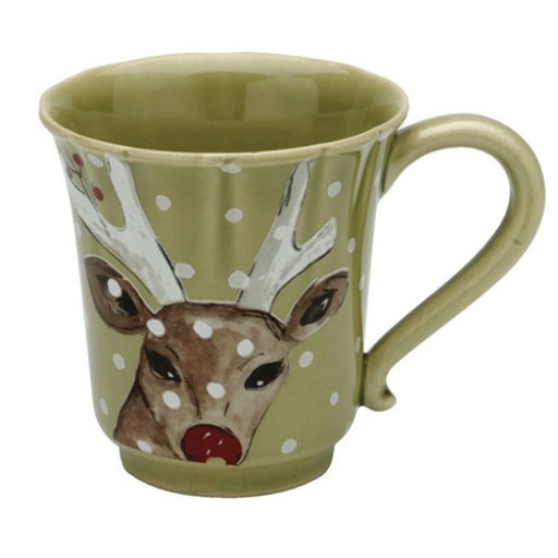 Casafina Deer Friends Coffee Mug - Available from SilverGallery.com