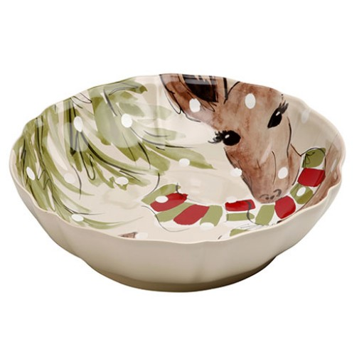 Casafina Deer Friends Serving Bowl - Large - Available from SilverGallery.com