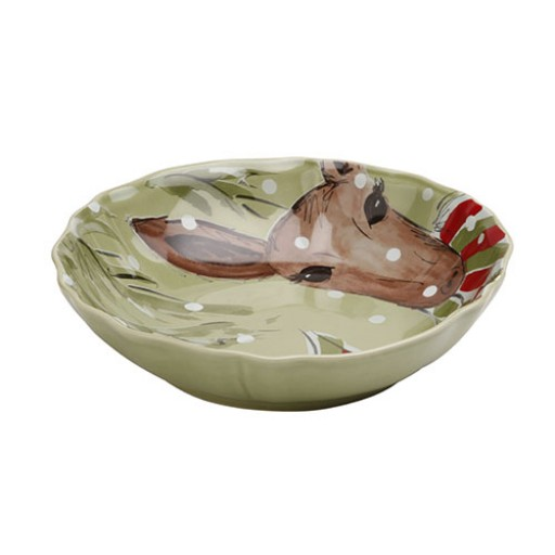 Casafina Deer Friends Serving Bowl - Small - Available from SilverGallery.com