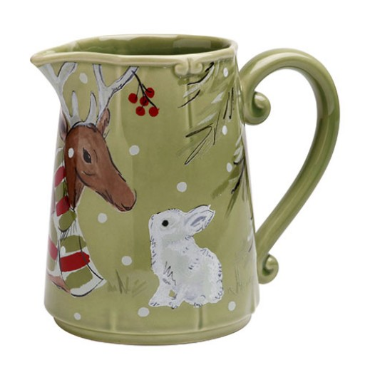 Casafina Deer Friends Pitcher - 2 qt - Available from SilverGallery.com