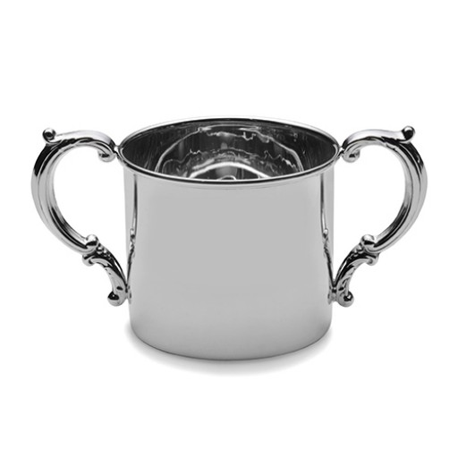 Empire Sterling Silver Classic Double Handled Baby Cup