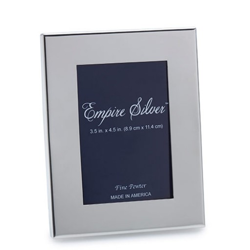 Empire Wide Border Pewter Frame - 3 x 5