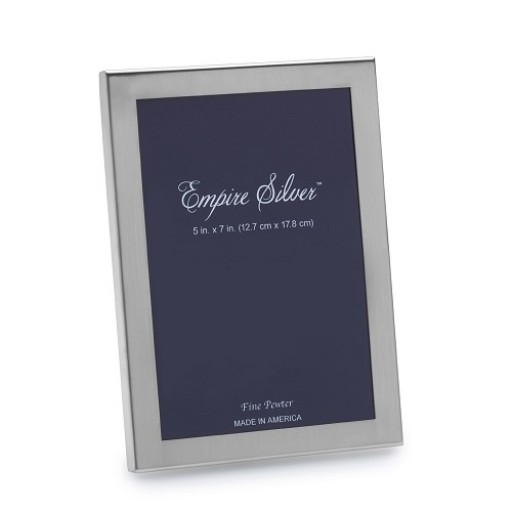 Empire Pewter Engravable Frame - 5 x 7