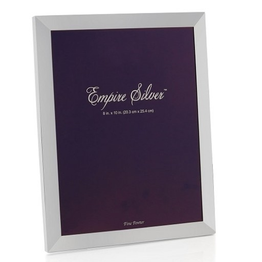 Empire Pewter Picture Frame - 8 x 10