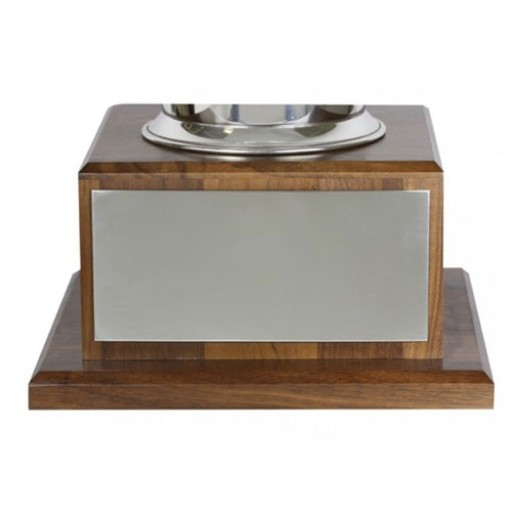 Engraving Plate for Small Wood Trophy Base - Adhesive Back
