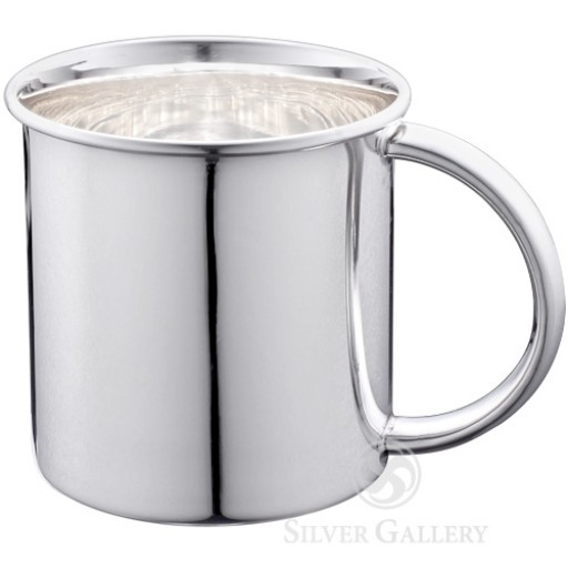 Lunt Sterling Silver Plain Handle Child's Cup