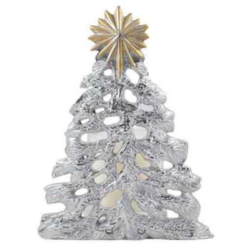 Mariposa Christmas Tree & Star Candle/Wine Bottle Holder