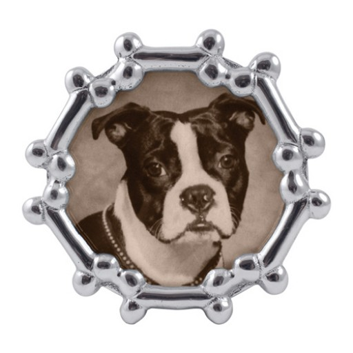 Mariposa Round Dog Bone Frame - 4 x 6 - Available from SilverGallery.com