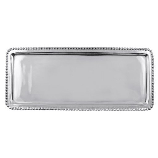 Mariposa Beaded Rectangular Tray