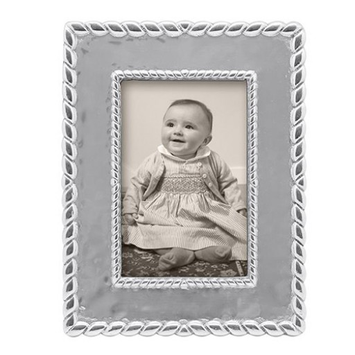Mariposa Meridian Textured Engravable Picture Frame - 4 x 6