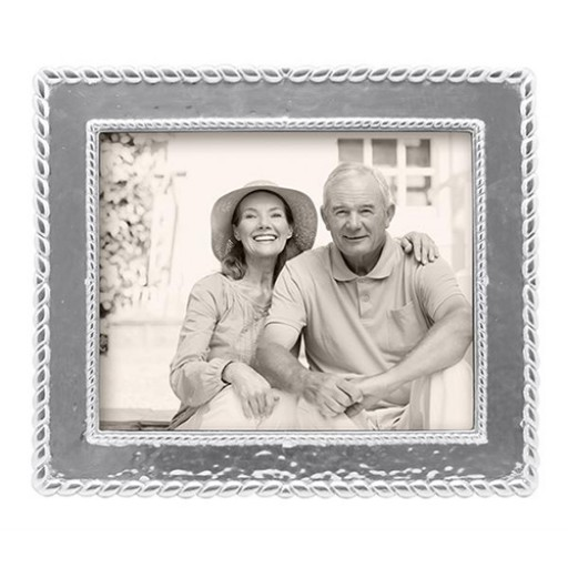 Mariposa Meridian Textured Twist Engravable Picture Frame - 8 x 10