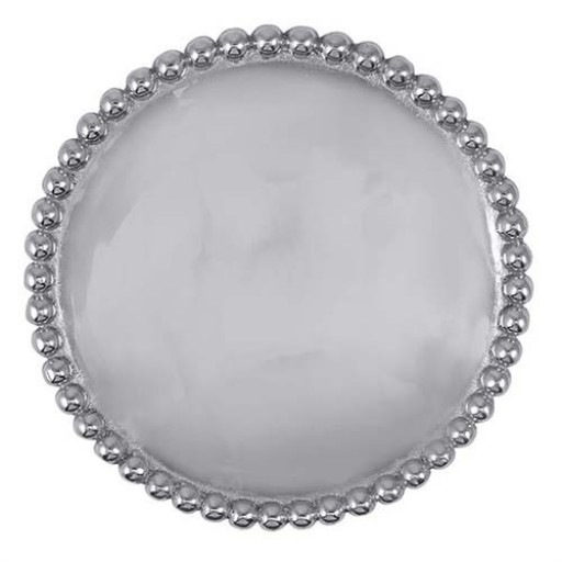 Mariposa String of Pearls Personalized Trivet - Engrave it at SilverGallery.com
