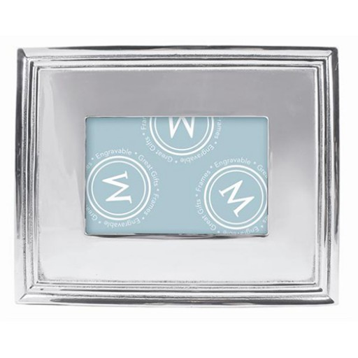 Mariposa Brillante Classic Engravable Picture Frame - 4 x 6 - Available from SilverGallery.com