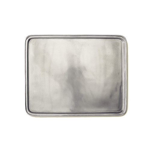 Large Match Pewter Rectangular Tray - Available from SilverGallery.com