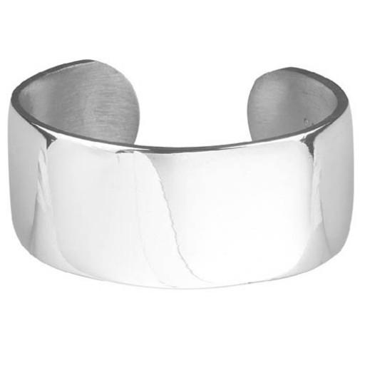 Salisbury Plain Pewter Cuff Bracelet - Engrave one at SilverGallery.com